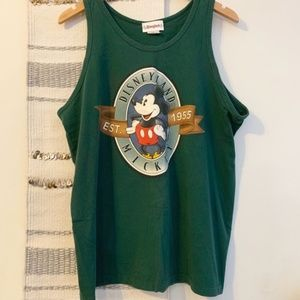 VINTAGE Disneyland Mickey 1955 Tank Top Muscle Tee